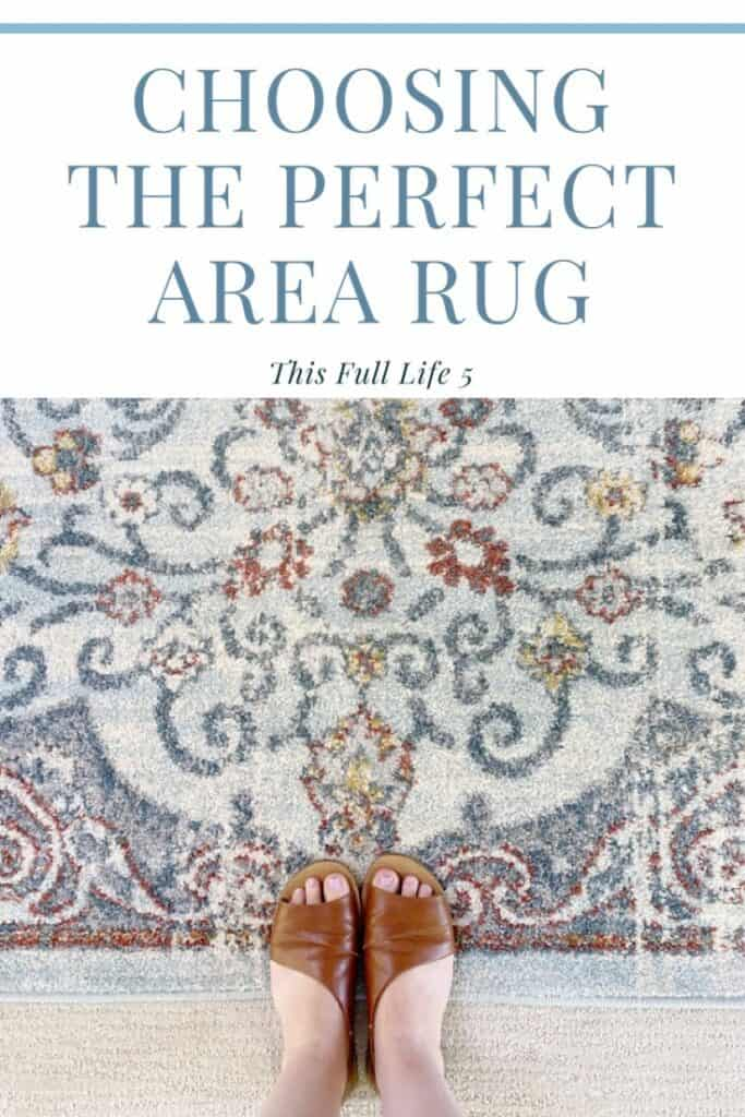 Tips for Choosing the Perfect Area Rug - ORC Week 3 6
