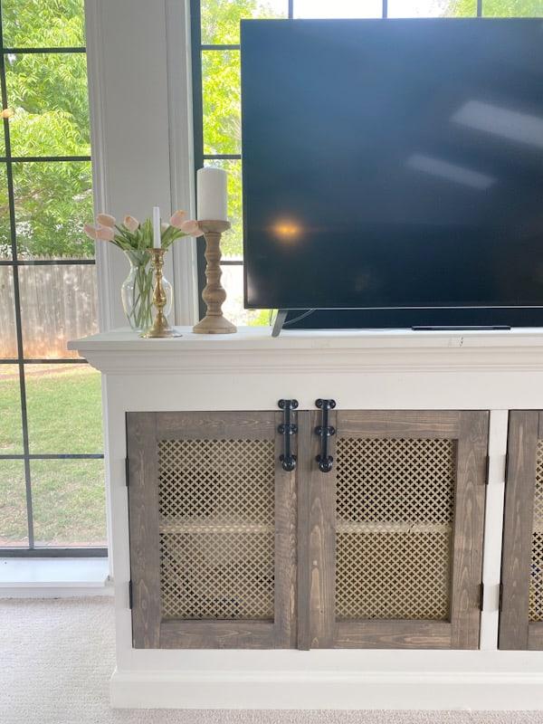 DIY Farmhouse TV Console - ORC Week 2 4