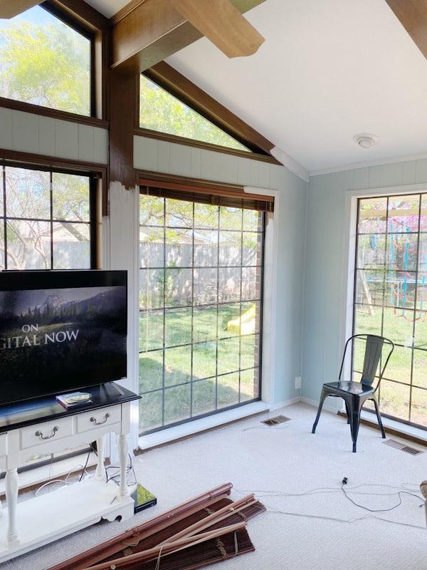 DIY Farmhouse TV Console - ORC Week 2 2