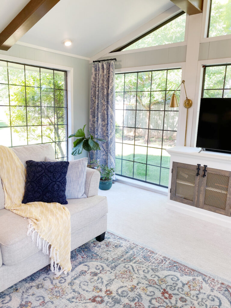 Farmhouse Living Room Reveal! - ORC Week 8 3