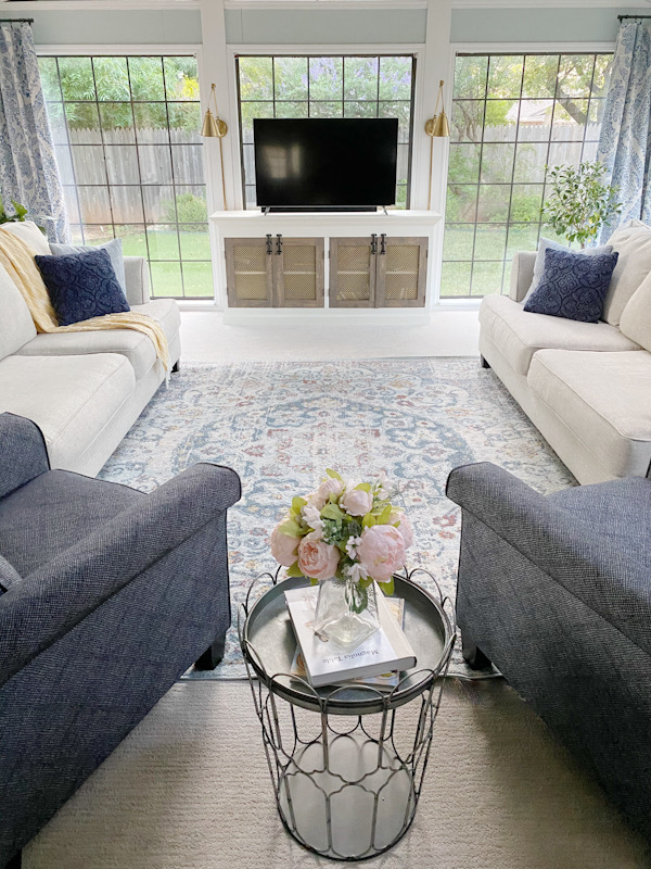 Farmhouse Living Room Reveal! - ORC Week 8 11