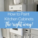How to Paint Your Kitchen Cabinets (the Right Way!) 1