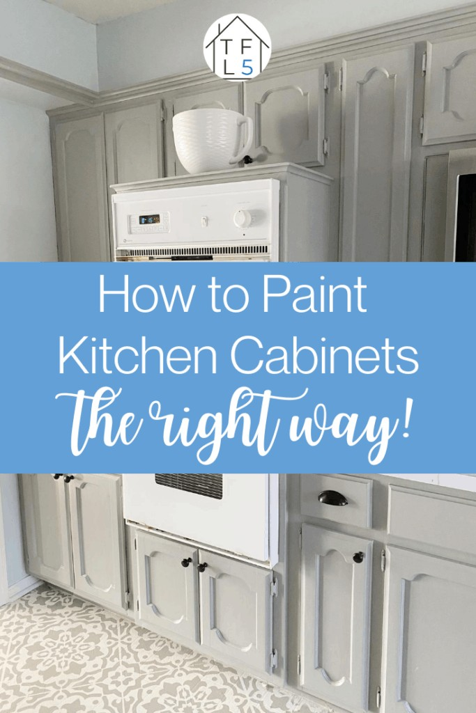 How to Paint Your Kitchen Cabinets (the Right Way!) 6