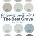 Farmhouse Paint Colors - 12 Best Gray Paints 1