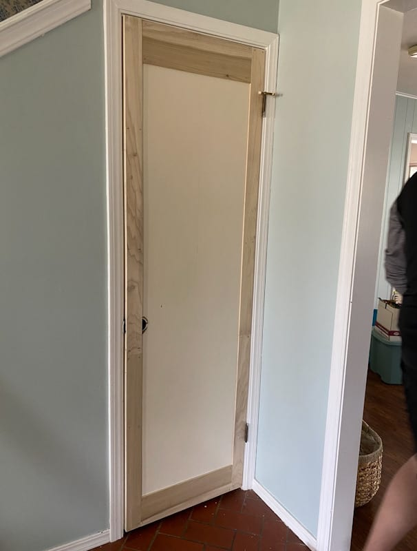 DIY Panel Door: How to add Moulding to a Flat Door 3