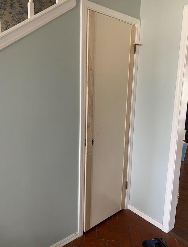 DIY Panel Door   Add Moulding to a Flat Door 2