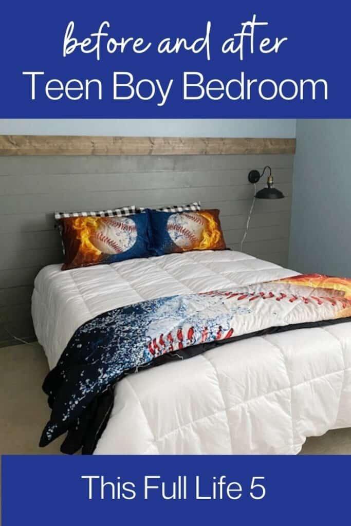 Cool Teen Boy Bedroom Makeover 2
