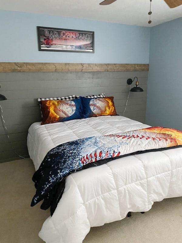 Cool Teen Boy Bedroom Makeover