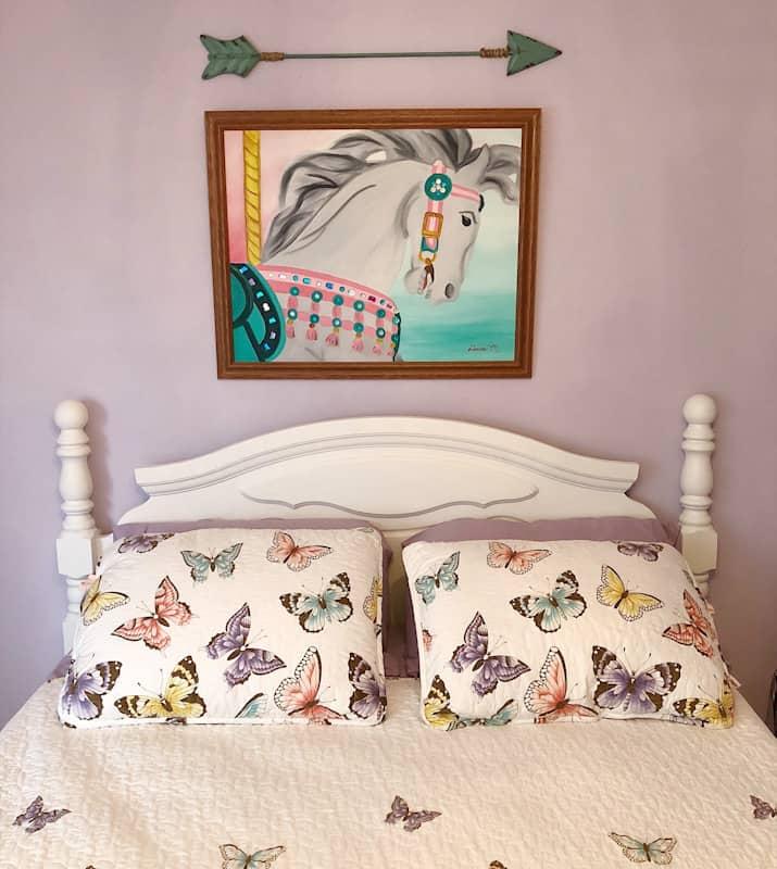 Vintage Farmhouse Tween Girls Room 1
