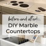 Beautiful DIY Marble Countertops 1