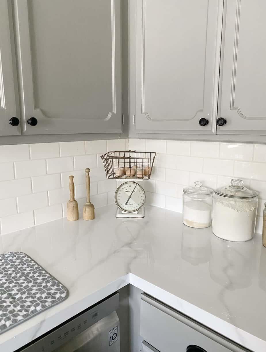 Beautiful DIY Marble Countertops