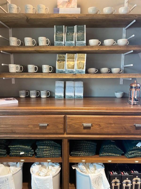 coffee merchandise